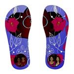 Heart flip flops - Women s Flip Flops