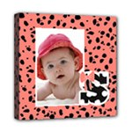 Animal Print Wall Art s - Mini Canvas 8  x 8  (Stretched)