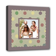 Fun Family - Wall Art Canvas - Mini Canvas 8  x 8  (Stretched)