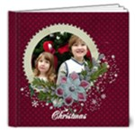 Christmas/Holiday ornaments-8x8 Deluxe Photo Book - 8x8 Deluxe Photo Book (20 pages)