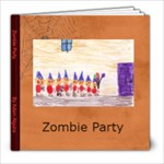 Zombie count to 10 - 8x8 Photo Book (20 pages)