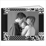 11 x 8.5 Photo Book- Black & White Damask - 11 x 8.5 Photo Book(20 pages)