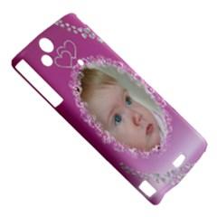 Sony Xperia Arc Hardshell Case  Left 45