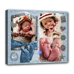 Baby Boy Deluxe Canvas 24x20 Stretched - Deluxe Canvas 24  x 20  (Stretched)