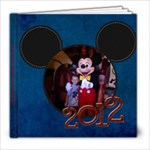 Disneyland 2012 - 8x8 Photo Book (30 pages)