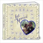 Our wedding album - 8x8 Photo Book (20 pages)