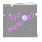 Our Memories 6 x 6 book - 6x6 Photo Book (20 pages)