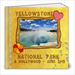 Yellowstone National Park - 8x8 Photo Book (20 pages)