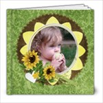 8x8 Photo Book (20pgs) Sweet Summer/any theme - 8x8 Photo Book (20 pages)