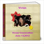 Vivian Graduation - 8x8 Photo Book (20 pages)