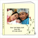 Our 1st Baby Jovi Au 23 Jan 2012 - 8x8 Photo Book (20 pages)