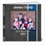 Jewkes Family 2011 vol.2 - 8x8 Photo Book (20 pages)