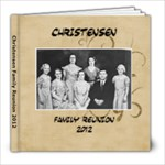 Christensen Family Reunion 2012 - 8x8 Photo Book (20 pages)
