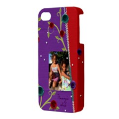Apple iPhone 4/4S Premium Hardshell Case Back/Left
