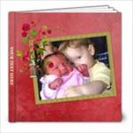Shabby Rose - 8x8 Photo Book (20pgs) - 8x8 Photo Book (20 pages)