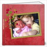 Shabby Rose - 12x12 Photo Book (20pgs) - 12x12 Photo Book (20 pages)