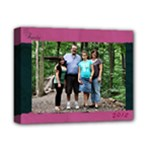 navypinkcanvas2 - Deluxe Canvas 14  x 11  (Stretched)