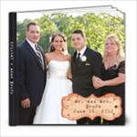 Bourn Wedding Book - 8x8 Photo Book (20 pages)