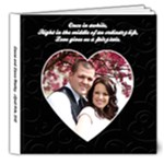 Lance and Laura Album - 8x8 Deluxe Photo Book (20 pages)