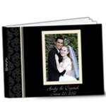 Crystal & Andy s Album - 9x7 Deluxe Photo Book (20 pages)