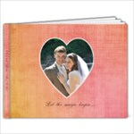 Amy and Kevin 4 - 9x7 Photo Book (20 pages)