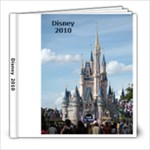 Dislney 2010 - 8x8 Photo Book (39 pages)