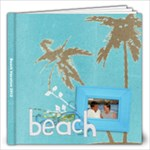 Beach Vacation 12x12 Photo Book (20pgs) - 12x12 Photo Book (20 pages)
