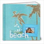 Beach Vacation 8x8 Photo Book (20 pgs) - 8x8 Photo Book (20 pages)