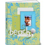 Beach Vacation 9x12 Deluxe Photo Book (20pgs) - 9x12 Deluxe Photo Book (20 pages)