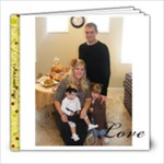 Carter Family 2010 - 8x8 Photo Book (20 pages)