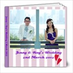Wedding 1 - 8x8 Photo Book (20 pages)