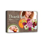 thankful - Mini Canvas 6  x 4  (Stretched)