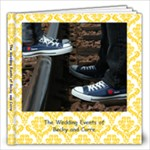 Becky and Corre Wedding 40 Page 12x12 - 12x12 Photo Book (20 pages)