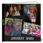 August Vacation 2012 - 12x12 Photo Book (20 pages)