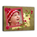 Shabby Rose - Canvas 16x12(stretched)  - Canvas 16  x 12  (Stretched)