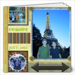 europe 2012 12x12 book 40 pgs FOURPG1212 - 12x12 Photo Book (20 pages)