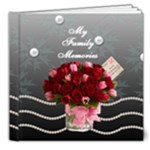 Family 8 x8 delux  book - 8x8 Deluxe Photo Book (20 pages)