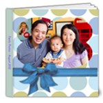 Family Photos August 2012 - 8x8 Deluxe Photo Book (20 pages)
