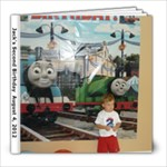 jacks birthday 2 - 8x8 Photo Book (20 pages)