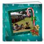SimplyChristmas Vol1- 8x8 Deluxe Photo Book(20pgs) - 8x8 Deluxe Photo Book (20 pages)