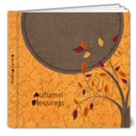 Autumn Blessings 8x8 Photo Book - 8x8 Deluxe Photo Book (20 pages)