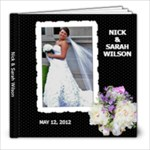 Sarah wedding - 8x8 Photo Book (20 pages)