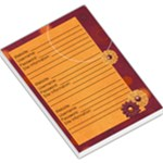 Web-Notes Maroon Memopad - Large Memo Pads