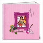 8x8 (39 pages): My Rock Princess - 8x8 Photo Book (39 pages)