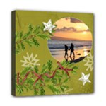 ShabbyChristmas Vol1 - Mini Canvas 8x8(stretched)  - Mini Canvas 8  x 8  (Stretched)