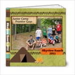 Skyview 2012 boys - 6x6 Photo Book (20 pages)