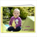 lolas birthday book - 7x5 Photo Book (20 pages)