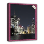 Kissed by a butterfly Deluxe 20x16 Canvas - Deluxe Canvas 20  x 16  (Stretched)