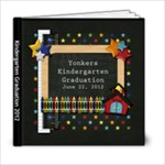 Kindergarten Graduation - 6x6 Photo Book (20 pages)