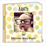 AB Alphabet Book - 8x8 Photo Book (20 pages)